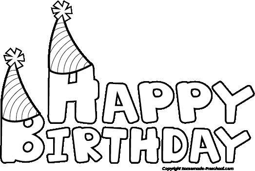 Birthday black and white free .-Birthday black and white free .-8