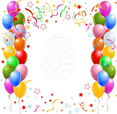 Birthday Border Clip Art Tumundografico -Birthday border clip art tumundografico 2-2