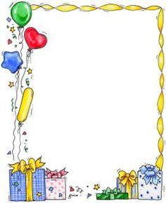 Birthday Border Clipart #1 ... Happy Birthday! on .