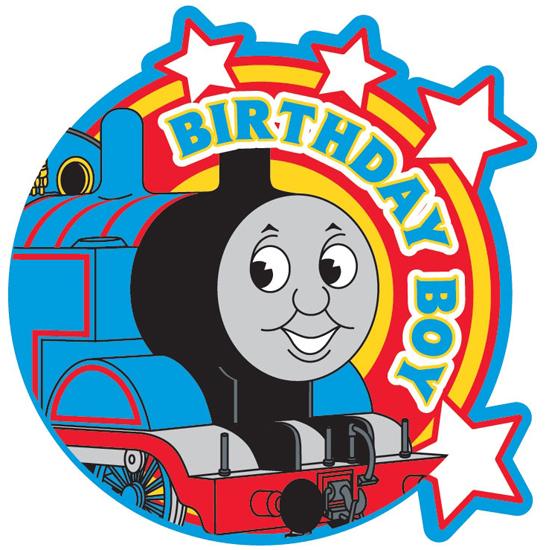 Birthday Boy Thomas The Train Clipart