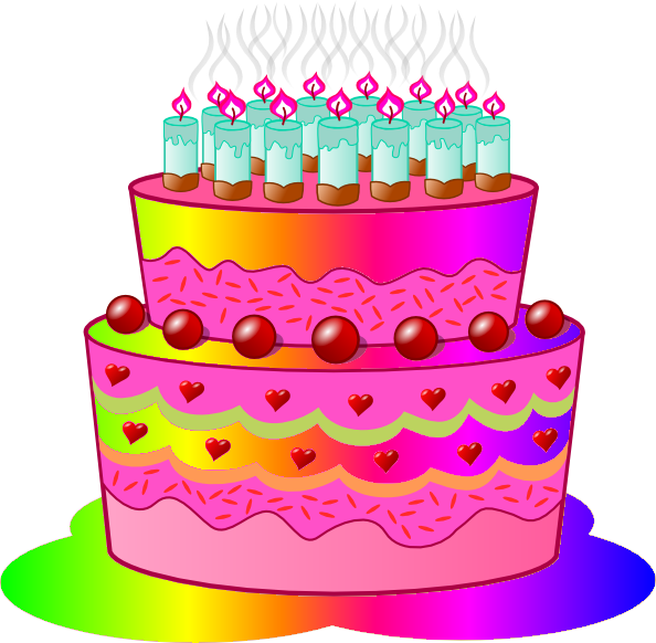Birthday Cake C Free Images At Clker Com-Birthday Cake C Free Images At Clker Com Vector Clip Art Online-15