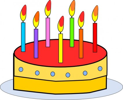 Birthday Cake Clip Art - Birthday Cakes Clip Art