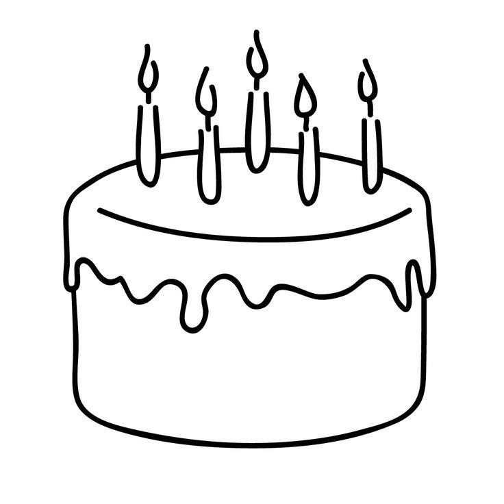 Birthday cake clip art black clip art birthday