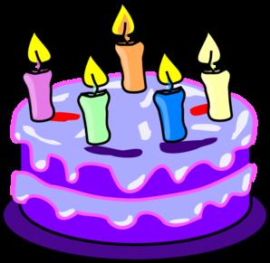 Birthday Cake Clip Art - Free Birthday Cake Clip Art