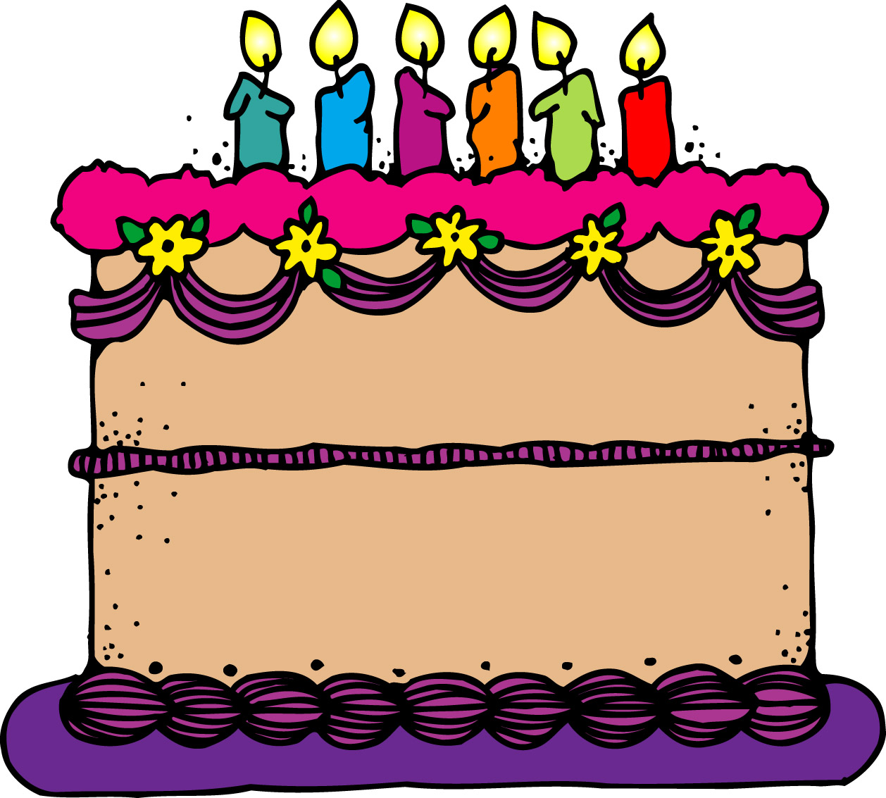 Birthday cake clip art free . - Birthday Cake Clipart