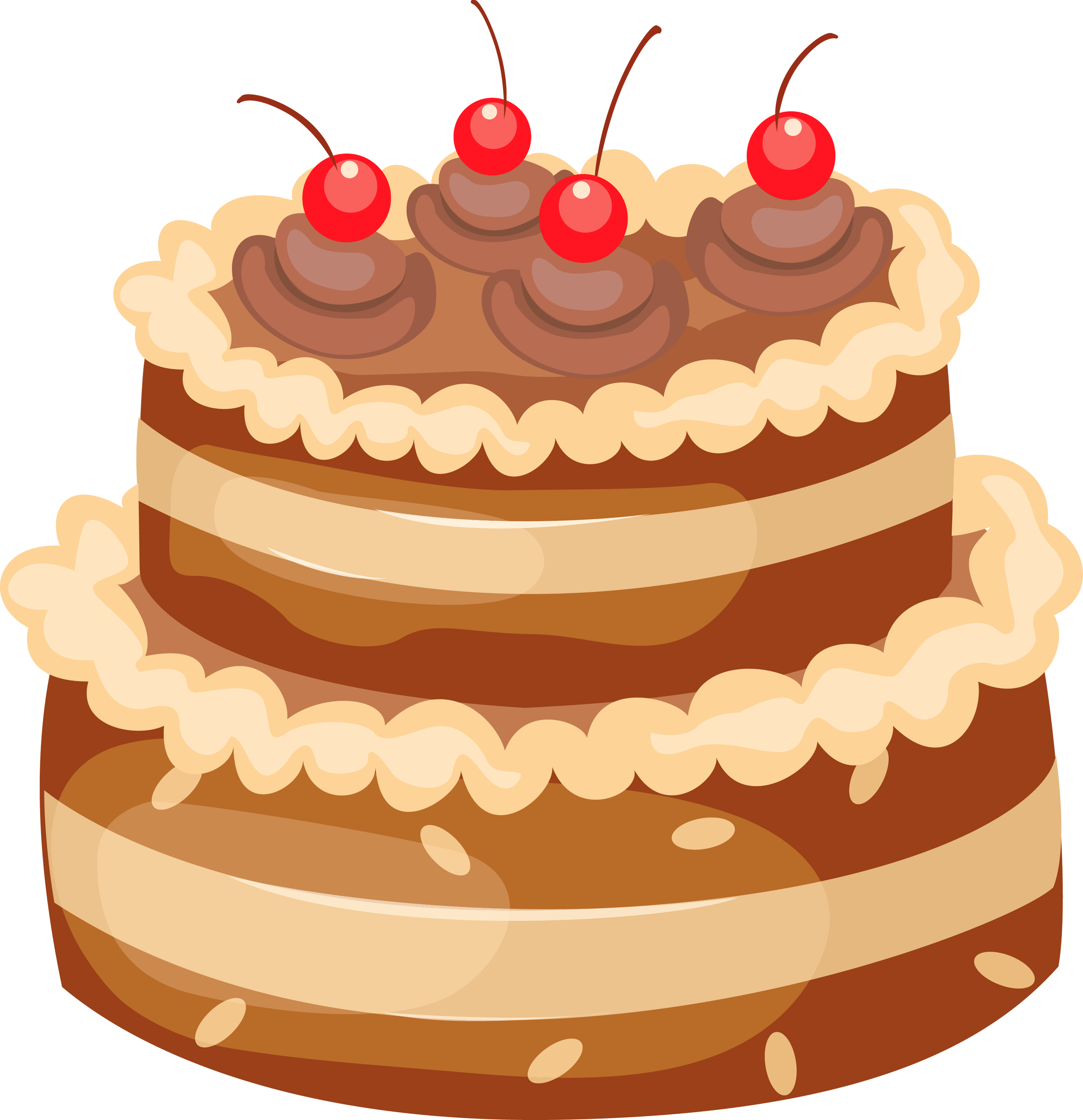 Birthday cake clip art free birthday cake clipart clipartcow