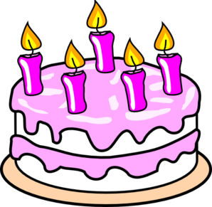Birthday cake clip art free clipart images