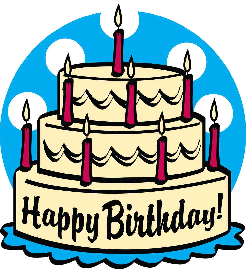 Birthday cake clipart-Birthday cake clipart-16