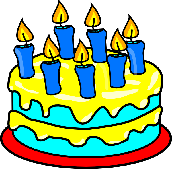 Birthday cake clipart danaspah top