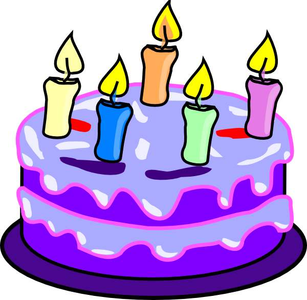 Birthday Cake Clipart Free .