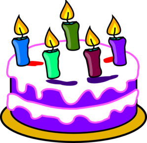 Birthday cake clipart free clipart images