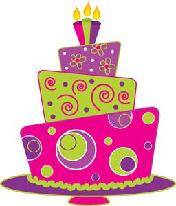Birthday Cake clip art Free v