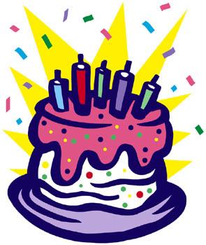 Birthday Cake Clipart .-Birthday Cake Clipart .-6