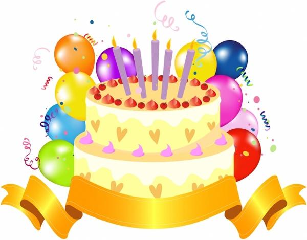 Birthday Cake - Happy Birthday Cake Clip Art