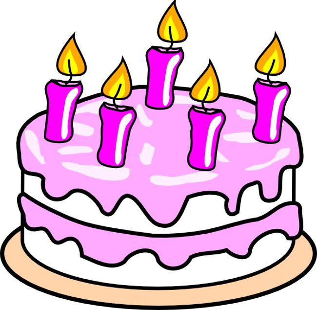 Birthday Cakes Clipart - clipartall