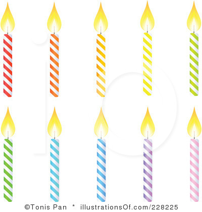 Birthday Candle Clipart Black And White Clipart Panda Free Clipart