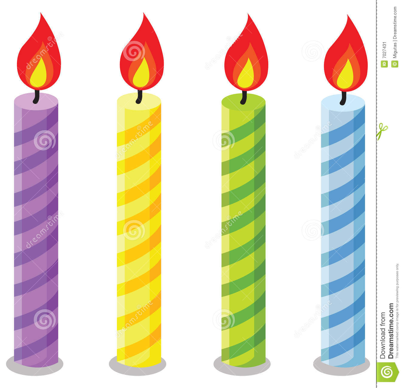 Birthday Candles Stock Image Image 70274-Birthday Candles Stock Image Image 7027431-4