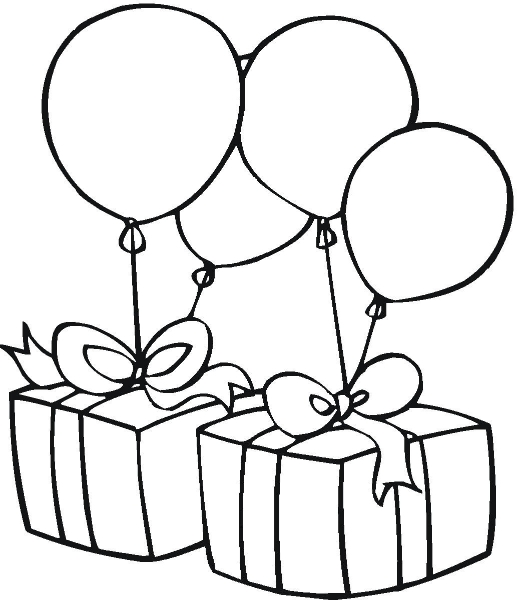 Birthday Clip Art Black And ..