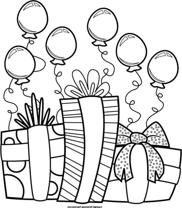 Birthday Clip Art Black And .-birthday clip art black and .-9