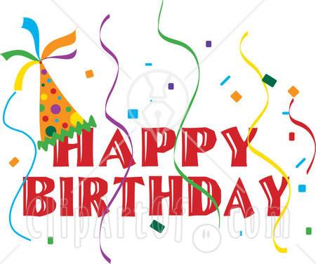 Birthday Clip Art Image .-Birthday Clip Art Image .-3