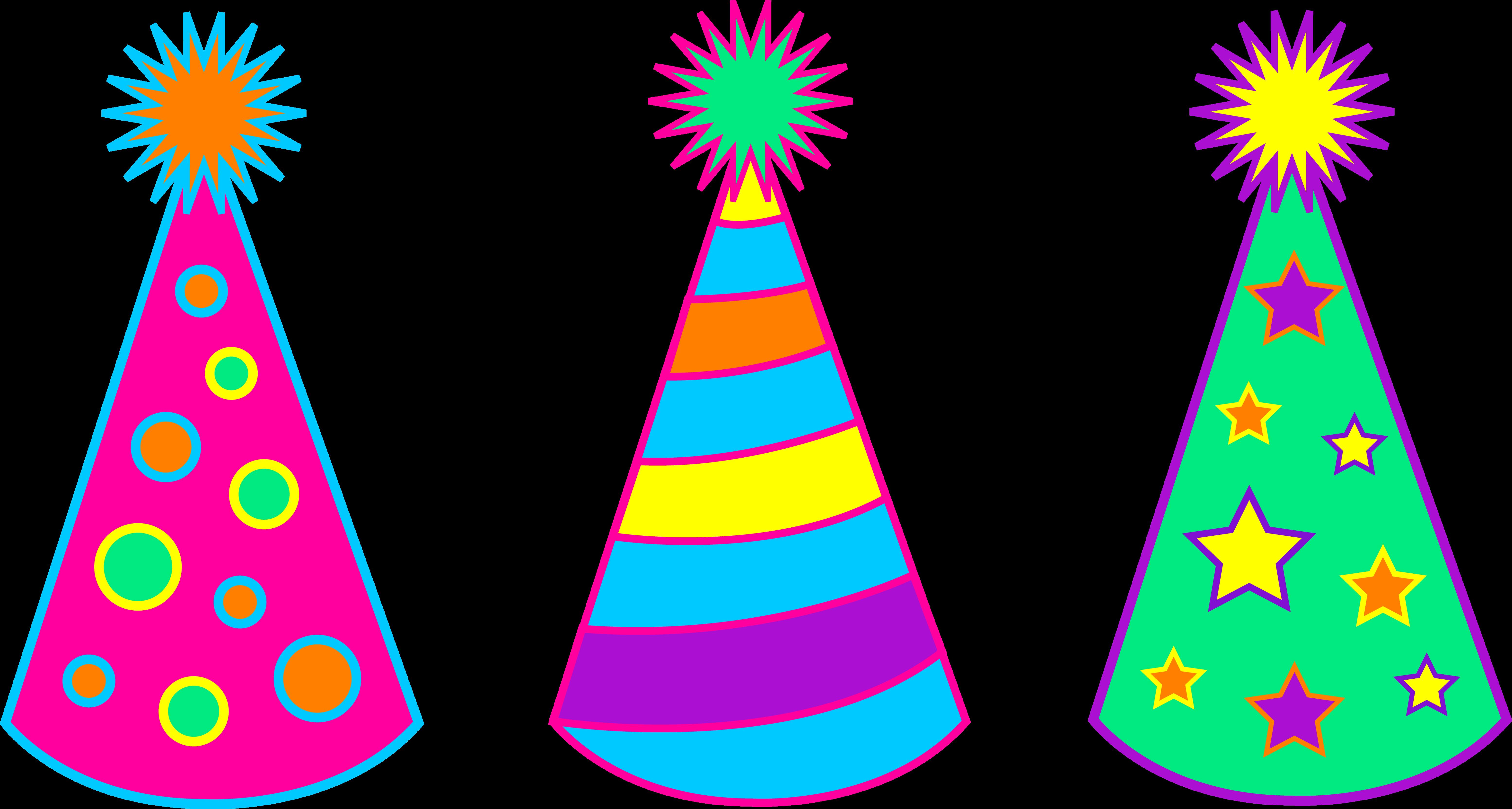 Birthday Hat Clip Art - clipartall