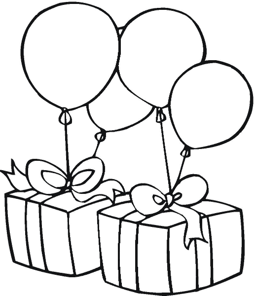 Birthday Party Clip Art Black And White -Birthday Party Clip Art Black And White Cute Photo Download Free-13