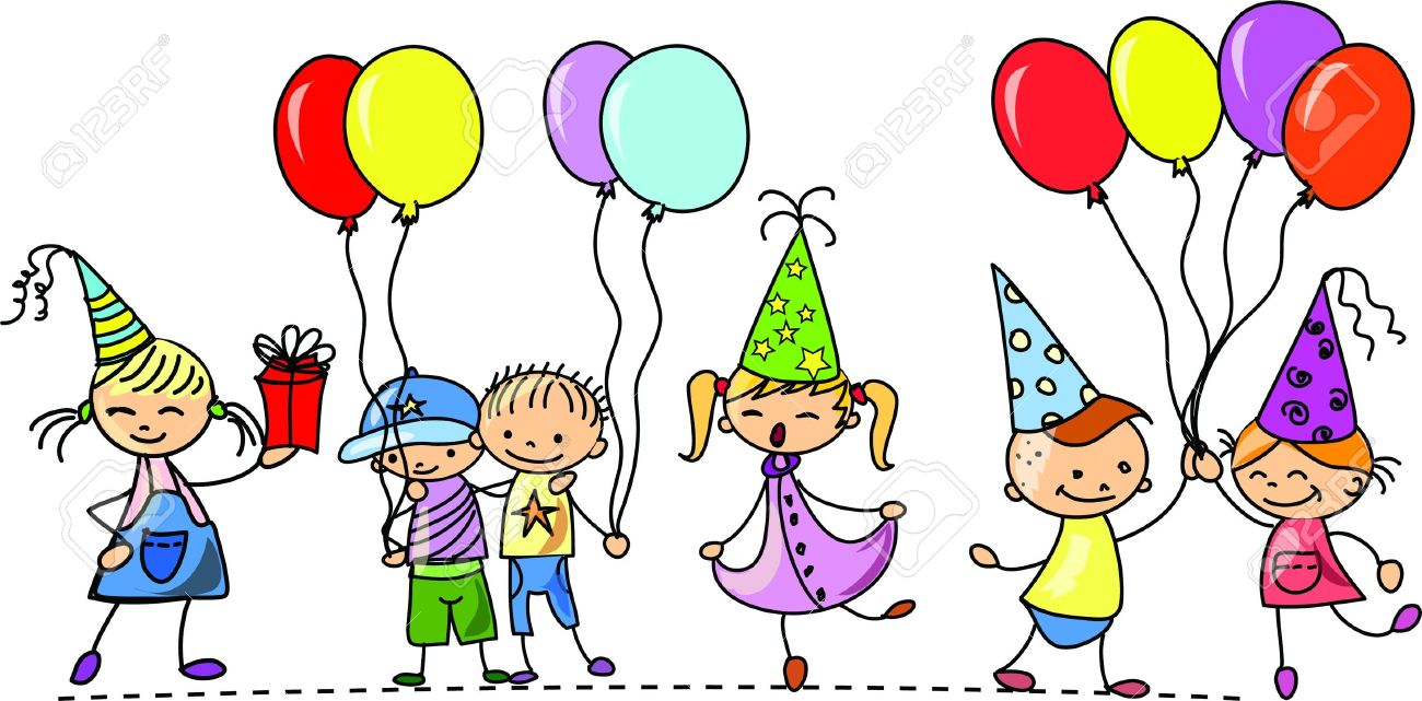 Birthday Party Clipart - Birthday Party Clipart