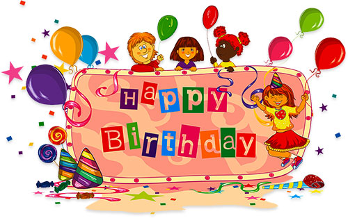 birthday party for kids - Clipart For Birthday