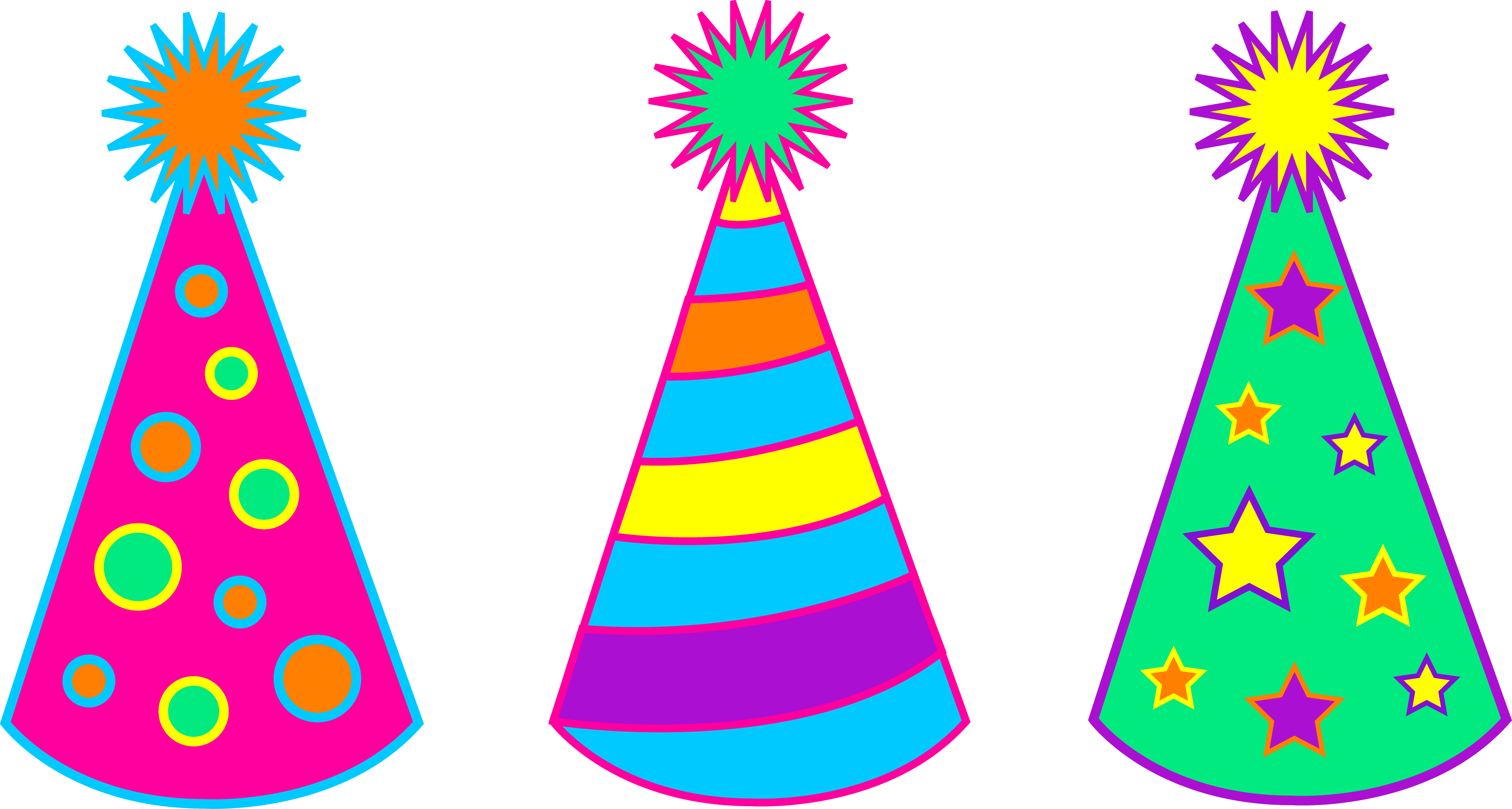 Birthday Party Hat Clip Art-Birthday Party Hat Clip Art-8
