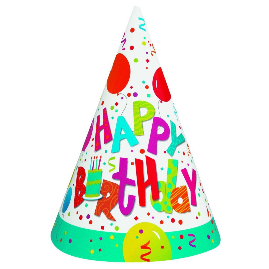 Birthday Party Hat Clipart .-Birthday Party Hat Clipart .-4