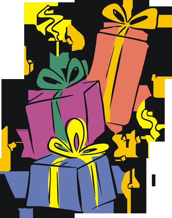 Birthday Gift Vector Clip Art