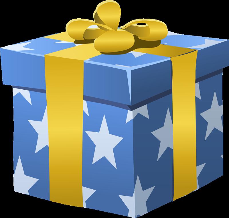 Birthday present clip art fre - Birthday Present Clipart