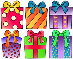 Birthday Present Clipart For Your Projec-Birthday Present Clipart For Your Project Or Classroom Free Png Files-8