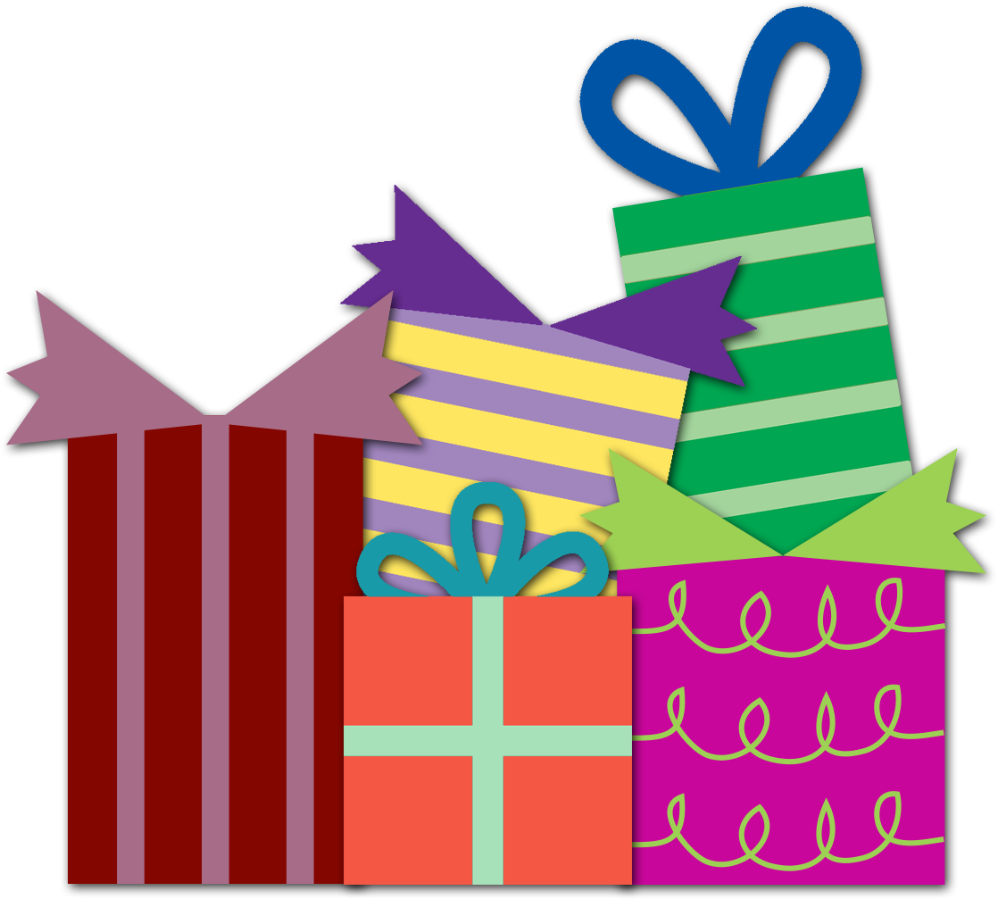 Birthday Present Clipart Png
