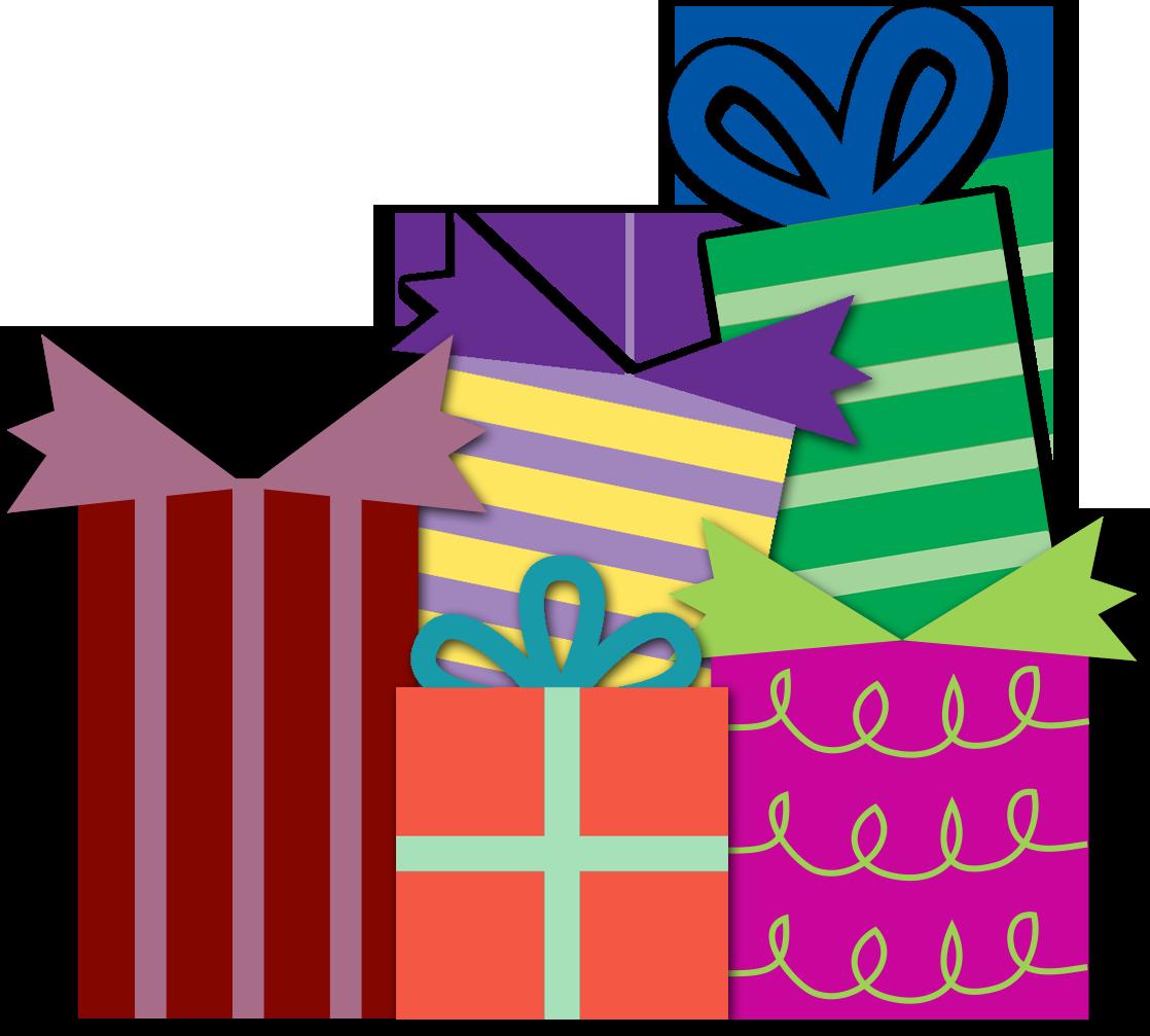 Birthday Present Clipart Png - Presents Clip Art