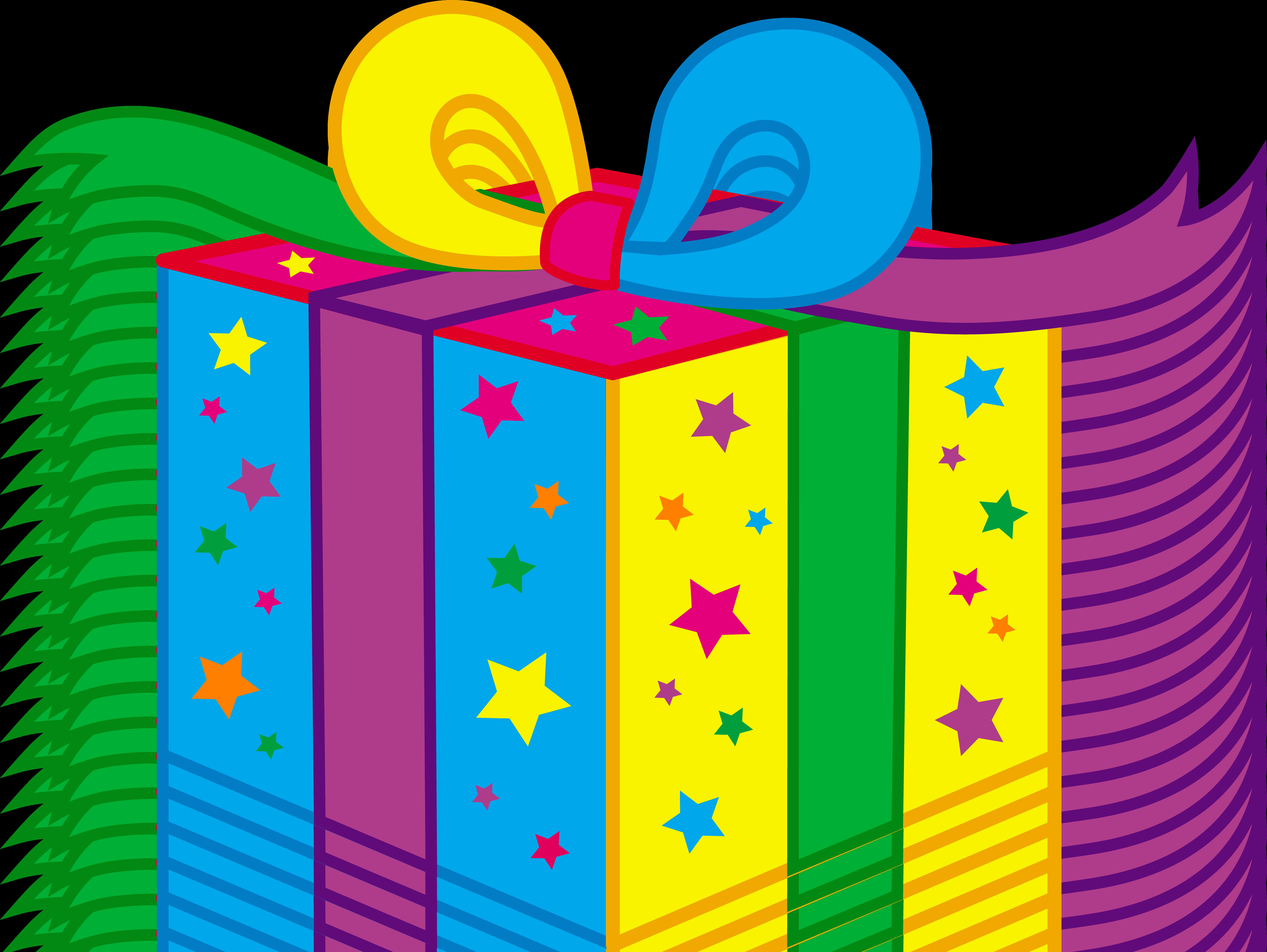 Birthday presents clipart - .