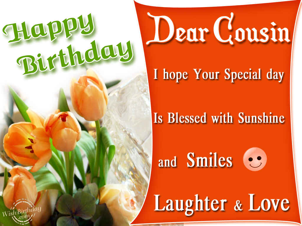 Happy Birthday Cousin Clipart