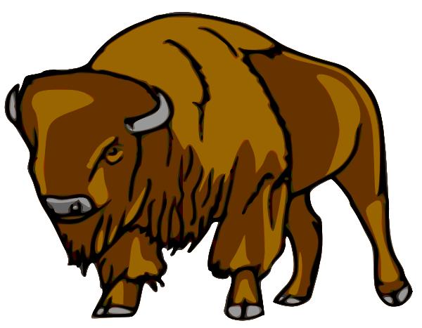Bison Clip Art-Bison Clip Art-3