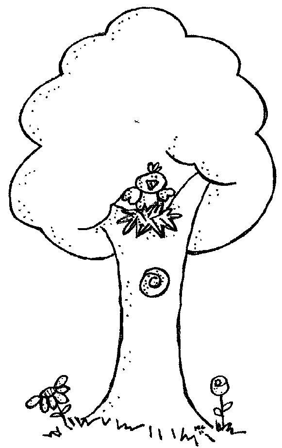 black and white bare tree cli - Tree Clip Art Black And White