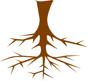 Black And White Tree With Roots Clipart-black and white tree with roots clipart-0