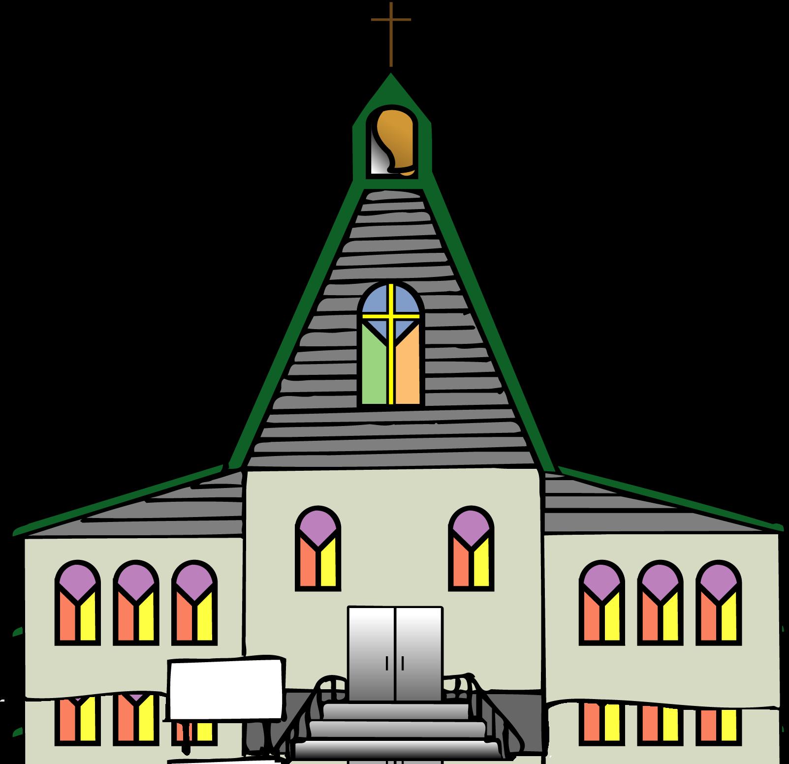 black church clip art-black church clip art-3