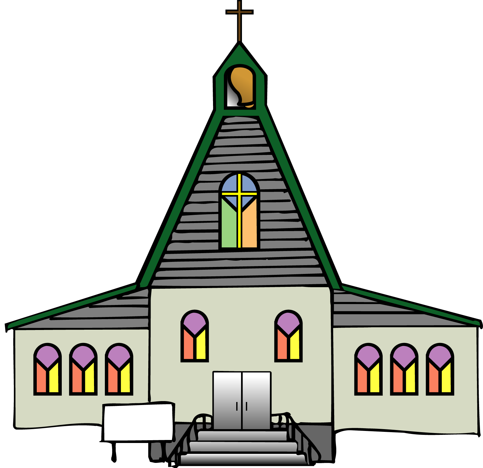 black church clip art