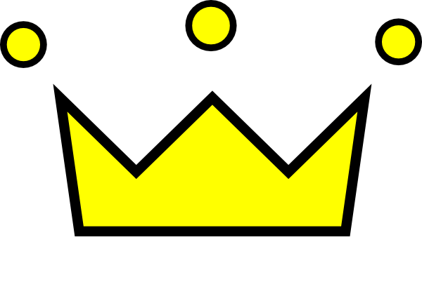 black crown clipart