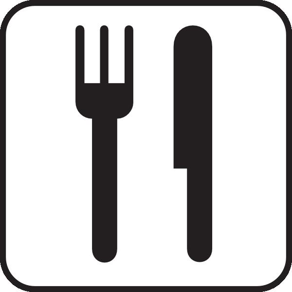 black fork clipart