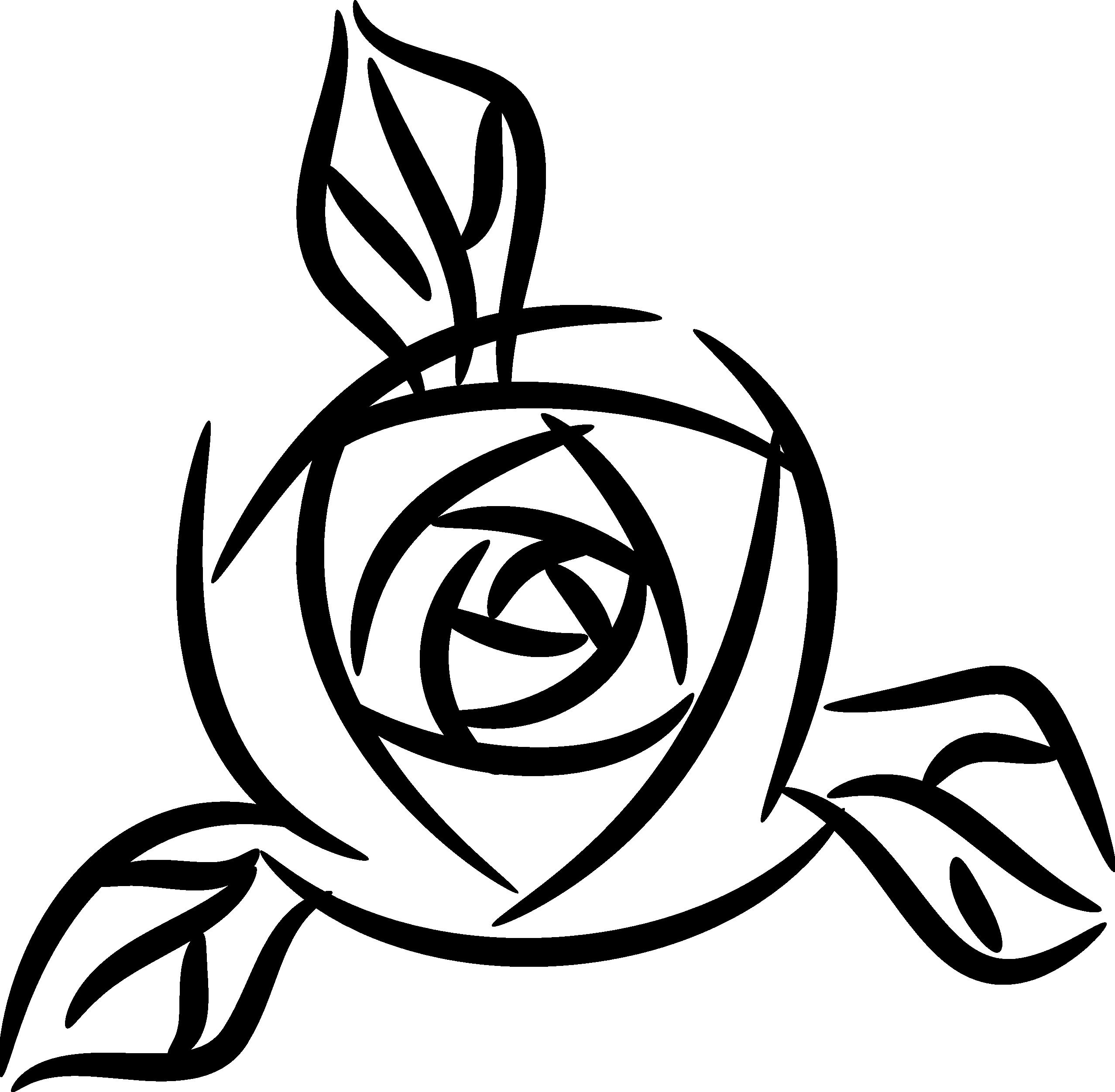 Black Rose Clipart-Black Rose Clipart-1