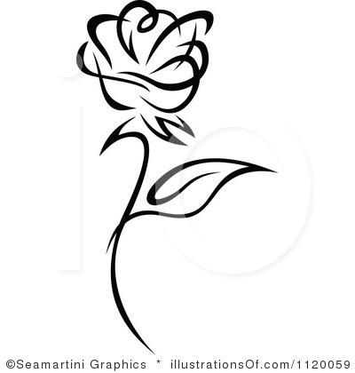Black Rose Clipart-Black Rose Clipart-2