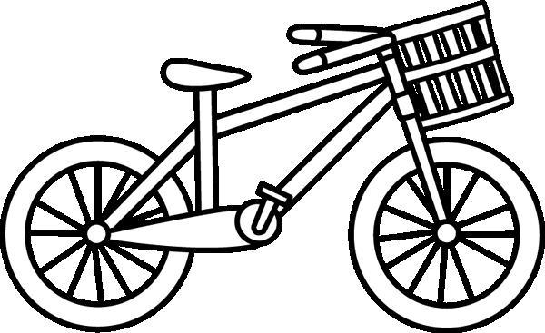 Black U0026amp; White Bicycle With A Bas-Black u0026amp; White Bicycle with a Basket-9
