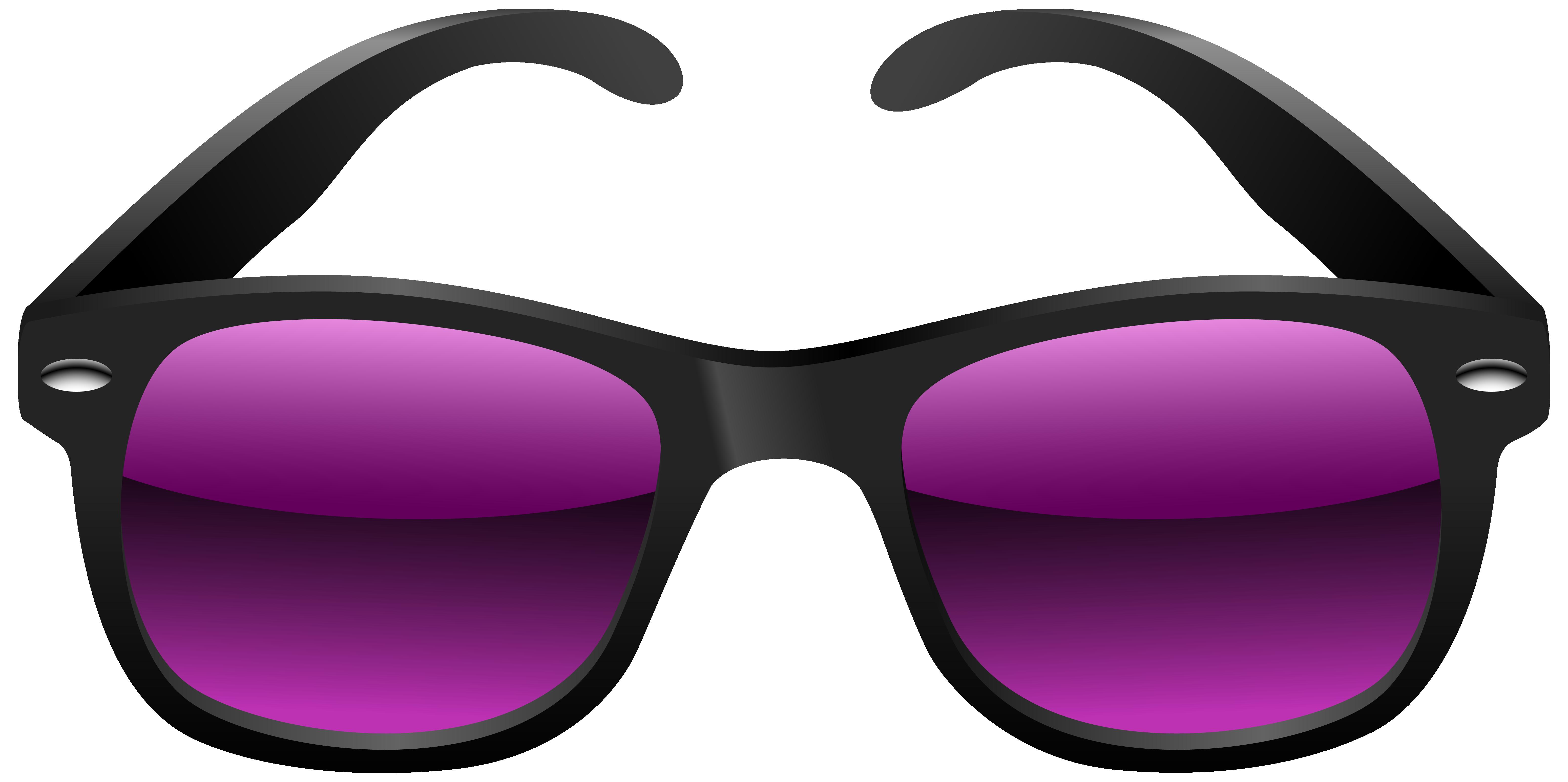 Black And Purple Sunglasses Clipart Imag-Black and purple sunglasses clipart image-3