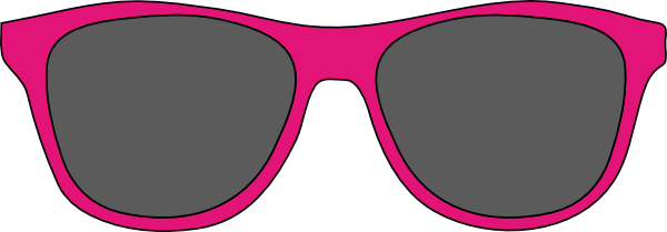 Black and purple sunglasses clipart image. Download this image as: