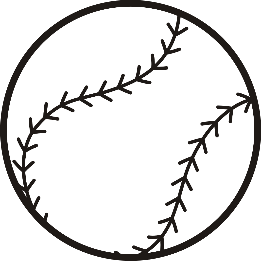 Baseball clipart 3